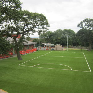 Artificial Pitch at Saughall School