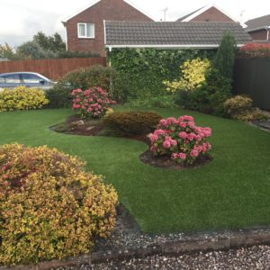 Synthetic Turf in front garden