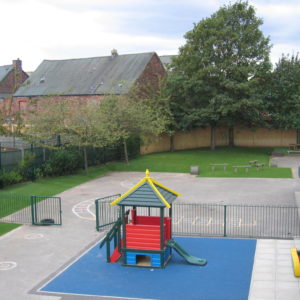 School Play Area in Liverpool