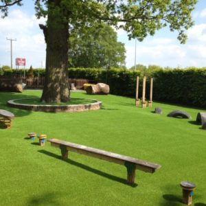Trim trail at Delamere Academy
